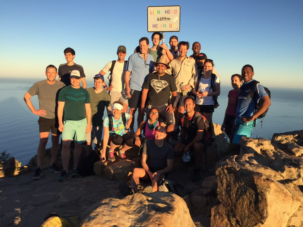 Investec at Lion's Head first of 3 peaks